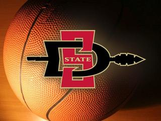 SDSU Aztecs basketball logo