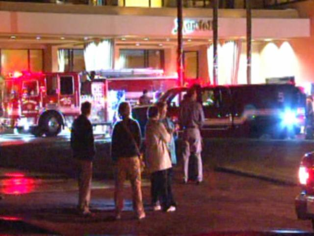 jolla marriott guests evacuated by fire kgtv tv san diego