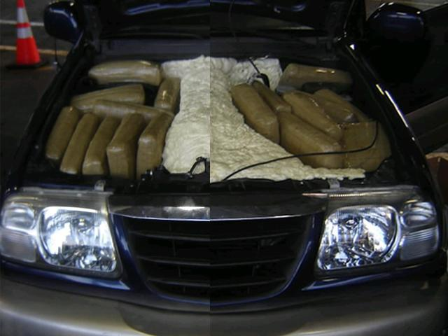Agents Seize Marijuana Hidden Under Car S Hood 10news
