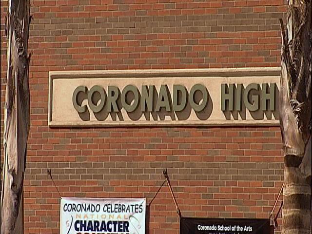 Threat prompts lockdown at Coronado High School