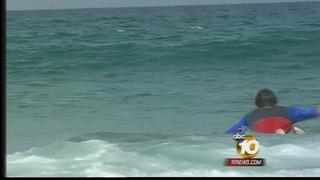 Local ocean water temperatures on rise
