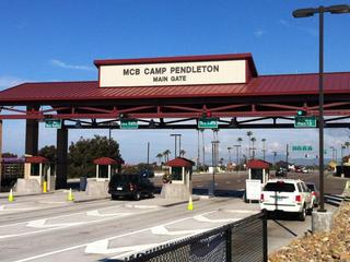 Camp Pendleton main gate
