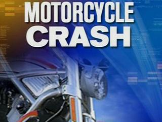 Motorcyclist dies after crashing into gate