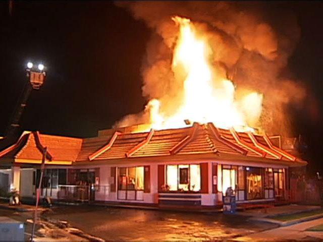 Fire Destroys Mcdonald S In Escondido 10news Com Kgtv Tv