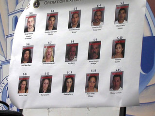 North County gang sweep Oct. 11, 2012