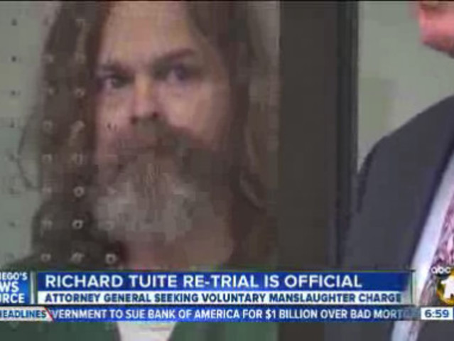 Attorney General To Retry Richard Tuite For Manslaughter