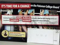 Sex dolls at center of board race. A city college board president is ...