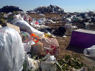 City researchers conduct landfill study