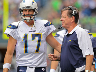 Philip Rivers, Norv Turner