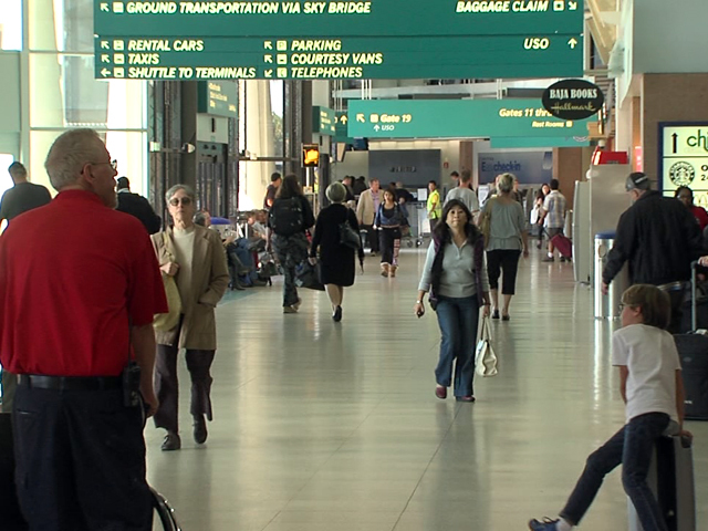 Food delivery offered at San Diego airport