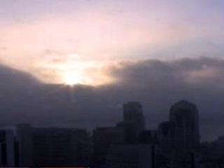 Fog from downtown skycam