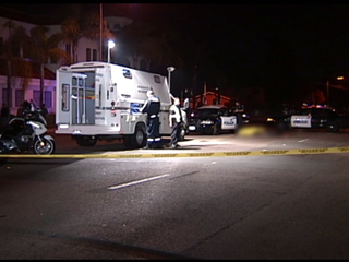 Pedestrian killed, Escondido hit-and-run