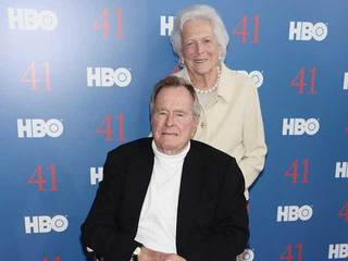 George H.W. Bush and Barbara
