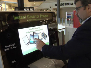 EcoATM touchscreen