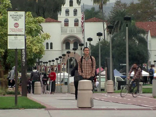 San Diego State University campus Dec. 6, 2012
