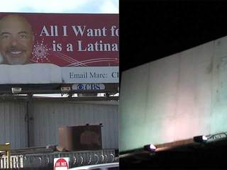 Billboard removed