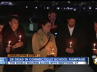 Nation mourns after gunman opens fire at a Conn. school