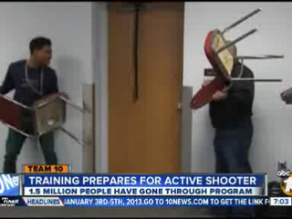 Special training helps prepare for active shooter; ALICE techniques being taught in San Diego