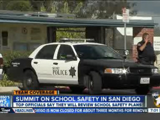 Summit held to discuss school safety
