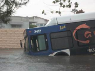 Oceanside sunken bus