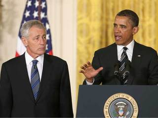 Obama nominates Hagel for secretary of defense