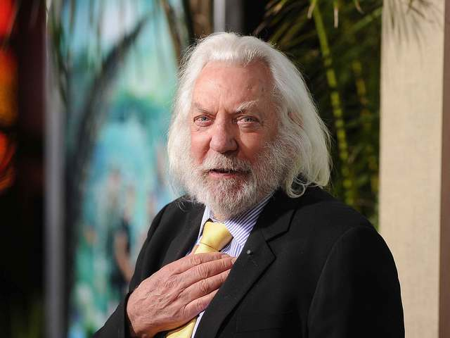 Star of Stage & Screen Donald Sutherland to Receive Honorary OSCAR