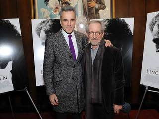 Daniel Day-Lewis and Lincoln director Steven Spielberg