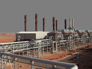 Amenas natural gas field Algeria
