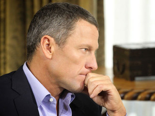 Lance Armstrong Getty Jan. 17, 2013
