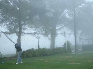 Famers Open fog delay
