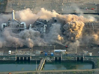 South Bay Power Plant from Sky10 implosion #2