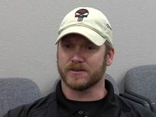 Former Navy SEAL sniper Chris Kyle