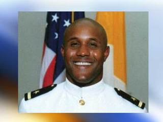 Dorner in Navy uniform