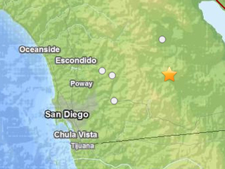 3.4 Borrego Springs earthquake USGS
