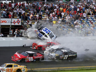 Daytona Nationwide Series crash Feb. 23, 2013