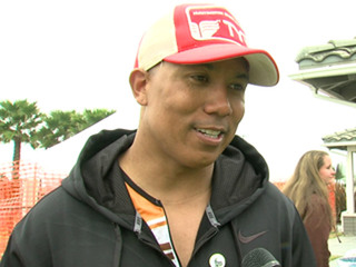 Hines Ward at SUPERSEAL Triathlon