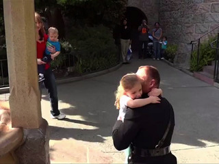 WATCH: Military dads surprise kids