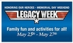 Legacy Week 2013: Honoring our Heroes