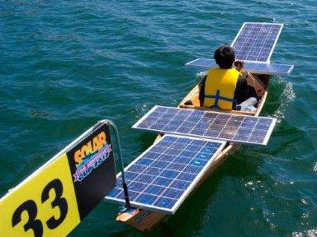 Solar Boat Competition Challenges Students Science