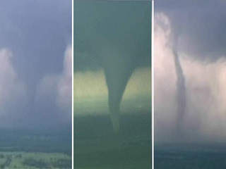 WATCH: Timelapse of Oklahoma twister