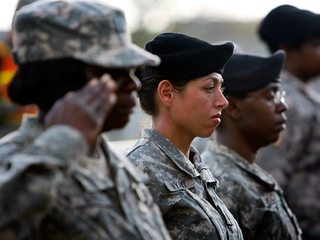 Top brass push for women to register in draft