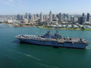 4,500 sailors, Marines deploy from SD Friday