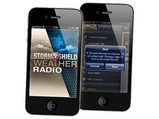 Download the Storm Shield app
