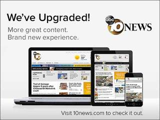 Welcome to the new 10News.com