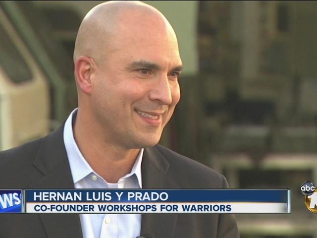 10News Leadership Award Recipient Hernan Luis y Prado