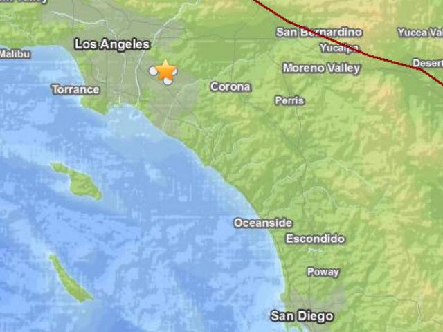 La Habra Earthquake Usgs