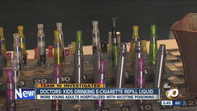 Companies make electronic cigarettes