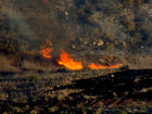 IMAGES: Bernardo Fire erupts in North County
