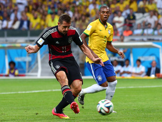 Germany routs Brazil to reach World Cup final
