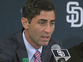 Padres GM Preller suspended over trade conduct